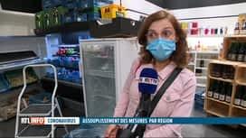 RTL INFO 19H : Coronavirus: réactions suite aux nouvelles mesures du Codeco