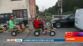 RTL INFO 13H : 33e Télévie: Ludo poursuit son périple en cuistax