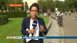 RTL INFO 13H : C'est la journée sans voiture à Bruxelles !