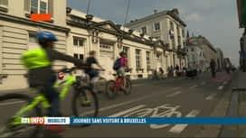 RTL INFO 19H : Vous étiez nombreux à profiter de la journée sans voiture à Bruxelles