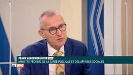 RTL INFO 19H : Coronavirus: le débat dominical est revenu sur la vaccination