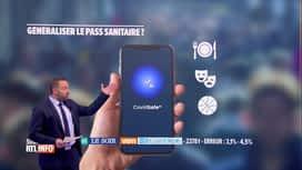 RTL INFO 19H : Pass sanitaire: les résultats du Grand Baromètre RTLinfo-IPSOS-Le Soir