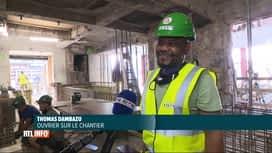 RTL INFO 19H : Bruxelles: des stagiaires ont été engagés sur le chantier de la Bourse