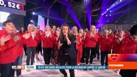 RTL INFO 19H : 33e Télévie: 10.617.189 euros ont été récoltés à l'issue de la soirée