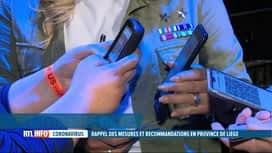 RTL INFO 19H : Hausse des cas Covid à Liège: de nouvelles mesures prises ce matin