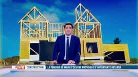 RTL INFO 13H : Il manque 7.000 travailleurs dans la construction en Wallonie