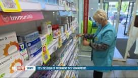 RTL INFO 13H : Le Belge reste le champion des somnifères
