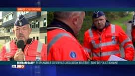 RTL INFO 13H : Agression lors d'un contrôle routier: l'avis de Bertrand Caroy