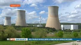 RTL INFO 13H : Fermer les centrales nucléaires en 2025? La population belge divisée