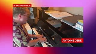 Antoine Delie revisite l'hymne du Télévie