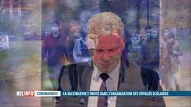 RTL INFO 19H : Les voyages scolaires, un casse-tête