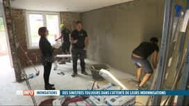 RTL INFO 13H : Inondations: Laëtitia, de Chênée, ne voit rien venir des assurances