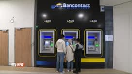 RTL INFO 13H : 4 banques belges s'unissent pour installer des distributeurs de bil...