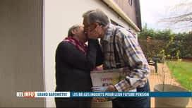 RTL INFO 13H : Un Belge sur trois seulement estime qu'il recevra une pension décente