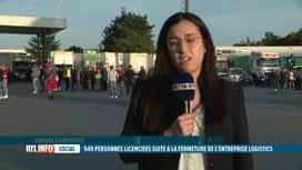 RTL INFO 19H : Fermeture de Logistics Nivelles d'ici l'automne 2022: Hanan Harrouc...