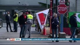 RTL INFO 19H : Fermeture de Logistics Nivelles d'ici l'automne 2022: 549 personnes...