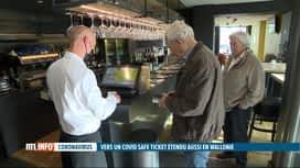 RTL INFO 19H : Vers un Covid Safe Ticket en Wallonie dès le 1er octobre: quelques ...
