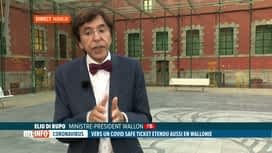 RTL INFO 19H : Covid Safe Ticket en Wallonie: le gouvernement wallon décidera demain