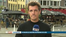 RTL INFO 19H : Coronavirus:  le Covid Safe Ticket étendu à l'ensemble de la Provin...