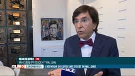 RTL INFO 13H : Le Covid Safe Ticket bientôt généralisé en Wallonie ?