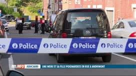 RTL INFO 19H : Un homme poignarde sa compagne et sa fille à Andrimont