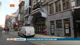 RTL INFO 19H : Difficile de mettre en place le Covid Safe Ticket en province de Liège
