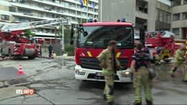 RTL INFO 19H : Des pompiers victimes de jets de pavés à Neder-over-Heembeek