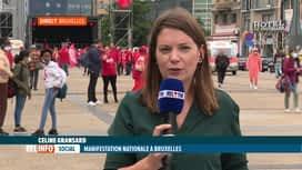 RTL INFO 13H : Manifestation nationale: jusqu'où la FGTB est-elle prête à aller ?