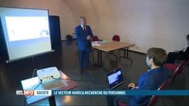 RTL INFO 13H : Peu de succès pour une formation aux métiers de l'Horeca