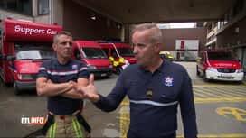 RTL INFO 19H : Violences envers les pompiers: le SLFP dépose un préavis de grève