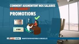 RTL INFO 19H : La loi de 1996 sur la norme salariale au coeur des revendications s...