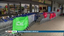 RTL INFO 19H : Les actions contre la loi sur la norme salariale ont provoqué des p...