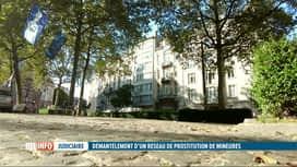 RTL INFO 19H : Un réseau de prostitution de mineures vient d'être démantelé à Brux...