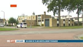 RTL INFO 19H : Un ado de 15 ans poignardé mortellement en rue à Oostkamp