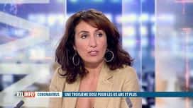 RTL INFO 19H : 3e dose pour les 65 ans et plus: la ministre Christie Morreale s'ex...