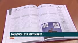 RTL INFO 19H : A quoi correspond la date du 27 septembre ?