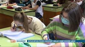 RTL INFO 19H : Le Néerlandais est de plus en plus délaissé par les jeunes wallons