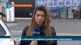 RTL INFO 13H : D'Ieteren veut fermer deux sites : 103 emplois menacés