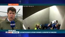 RTL INFO 13H : Affaire Chovanec: le point sur la première matinée de reconstitution