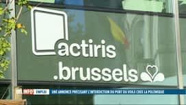 RTL INFO 19H : Actiris supprime une offre d'emploi jugée discriminatoire