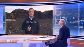 RTL INFO 19H : Inondations en Wallonie: les déchets entassés à Wandre bientôt évacués