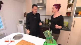 Jennifer et sa tarte aux poireaux / Alex et son fromage