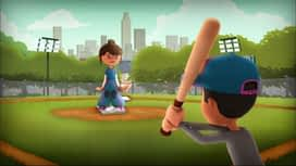 Chico Chica Boumba Pepper school : Le baseball