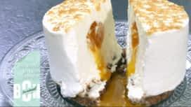 Sucrément Bon : La tarte mendiant / Le cheesecake passion - mangue