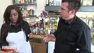 Marie-Julie et son colombo de poulet / Mickael et son risotto au cola