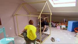 D&CO : Comment fabriquer un lit-cabane ?