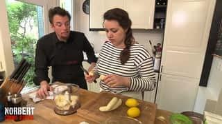 Clémentine et sa tarte à la banane / Messaouda et sa tatin de canard