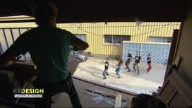Redesign: Sauvons les meubles ! : Bertrand donne un cours de zumba