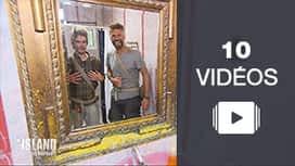The Island : Le top vidéos de la soirée 8 - The Island : Les naufragés