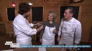 Transformer de vieux légumes abimés en plat gastronomique